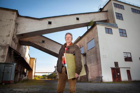 Thomas Rydén i samtal med Arne Johnsson om konstprojektet i Stripa