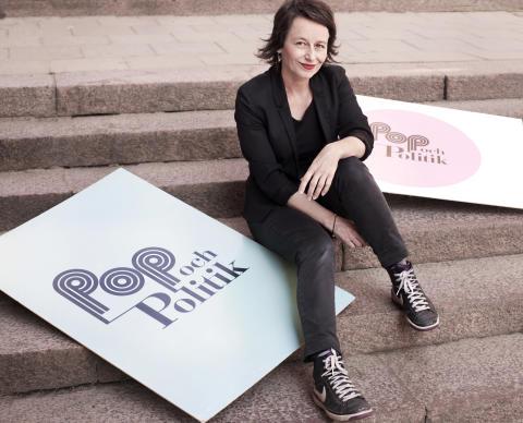 Anna Charlotta Gunnarson, programledare Pop och politik