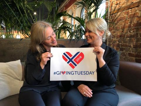 Giving Tuesday sprer seg i Norge