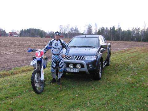 Mitsubishi L200 & Mats Nilsson