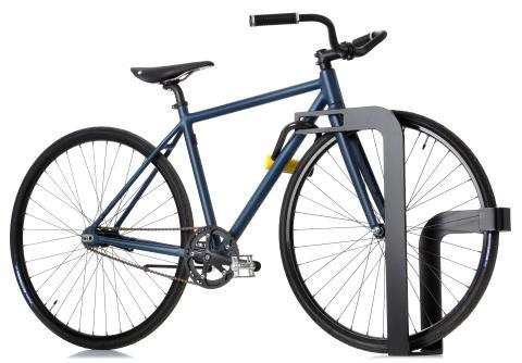 Ekeberg cykelställ, design Christian Sæther & Runa Klock