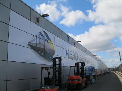 North Pole Train Maintenance Centre