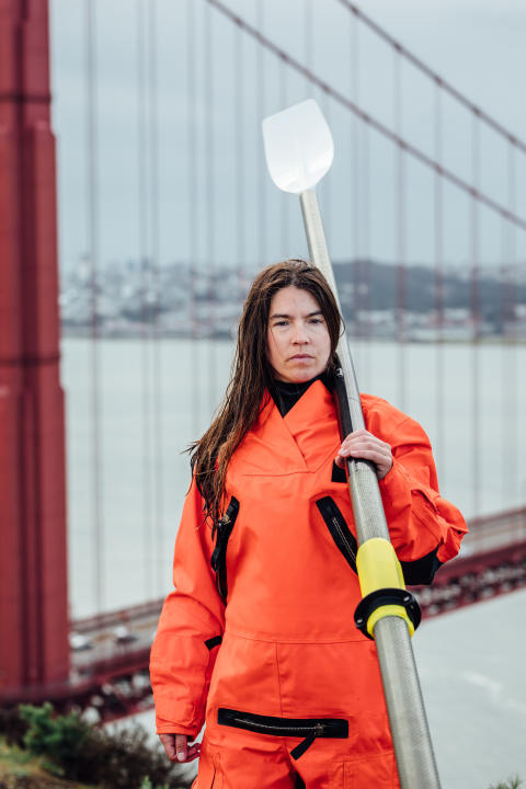 Hi-res image - Ocean Signal - Ocean rower Lia Ditton