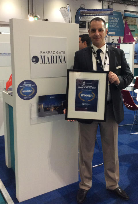 Karpaz Gate Marina: Karpaz Gate Marina Wins TYHA International Marina of the Year Award 2017