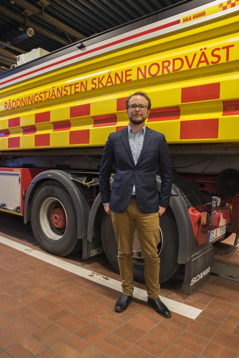 Daniel Nilsson, ordförande direktionen