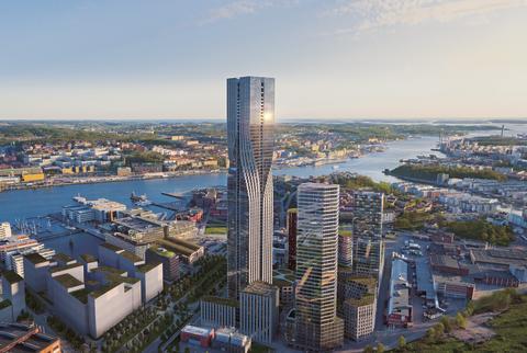 Nordens högsta byggnad - Karlatornet - blir Clarion-hotell