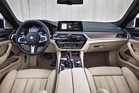 BMW 5-serie Touring - Interiør