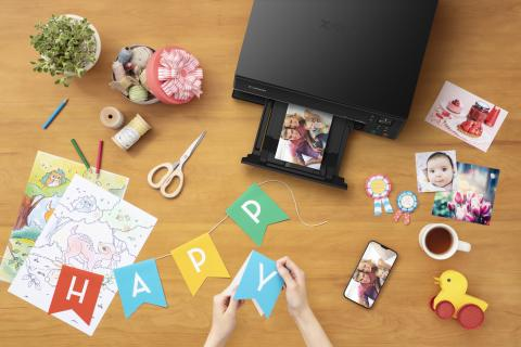 Udfold kreativiteten med Canons nye serie af PIXMA TS-printere