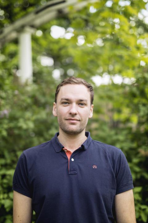 Håkan Carlsson är forskarstuderande på avdelningen för signalbehandling vid KTH.