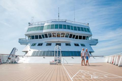 Guests can vote to 'steer the ship' on a Fred. Olsen Baltic cruise in Spring 2018