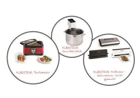 Klarsteins Kochtrend Sous-vide – Garen wie die Profis