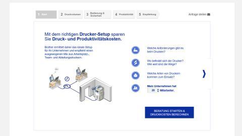 Brother vereinfacht den Beratungsprozess mit neuen Online-Produktberatern