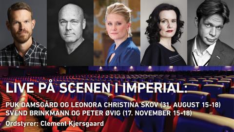 Clement Kjersgaard lancerer foredragsevents med Danmarks mest efterspurgte navne