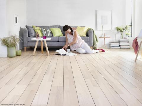 Bra golvvård håller trägolven vackra