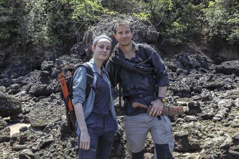 Captain Marvelina tunnettu Brie Larson seikkailusarja Running Wild With Bear Grylls nähdään National Geographic TV-kanavalla