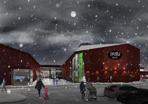 IKSU bygger ny klätterhall