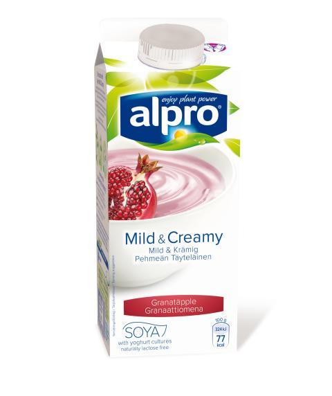 Alpro Mild & Creamy Granatäpple