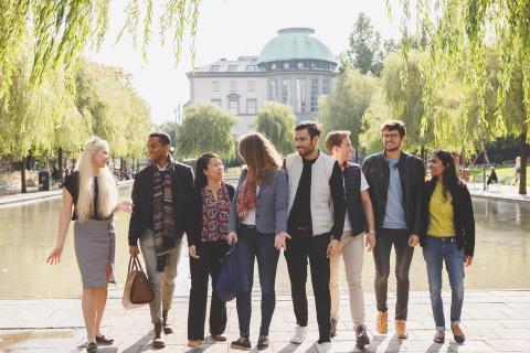 Handelshögskolan det mest internationella lärosätet i Stockholm