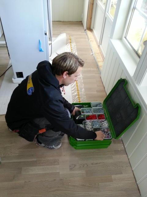 Testpilot Jan Kristian Bratland