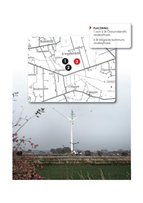 Karta Ingelsträde vindkraftverk