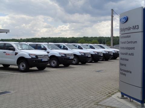 A Ford nyerte a tavalyi év egyik legnagyobb haszonjármű flotta tenderét