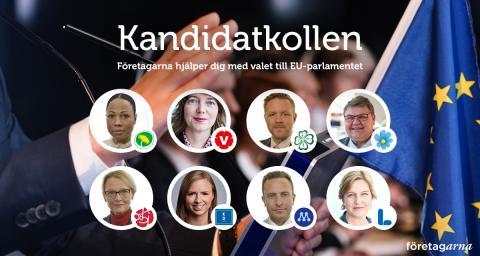 Företagarna lanserar EU-kandidatkollen – för företagsamma väljare