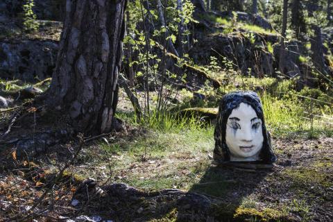 Skulpturutställning öppnar i Artipelags natur