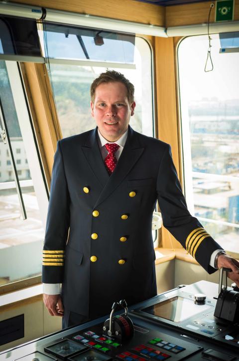 Captain Matt is Master of the High Seas