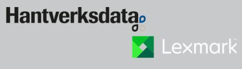 Hantverksdata har tecknat avtal med Lexmark