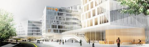 Swedbanks nya huvudkontor är ritat av danska 3XN