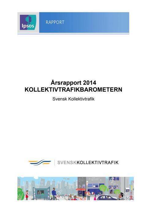 Kollektivtrafikbarometern 2014