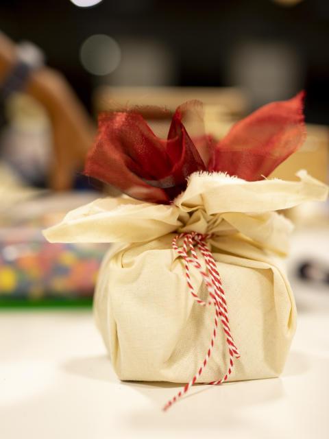 Lekker innpakning kan brukes om igjen mange ganger.