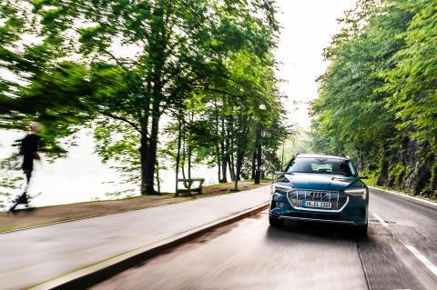 Audi e-tron på langtur