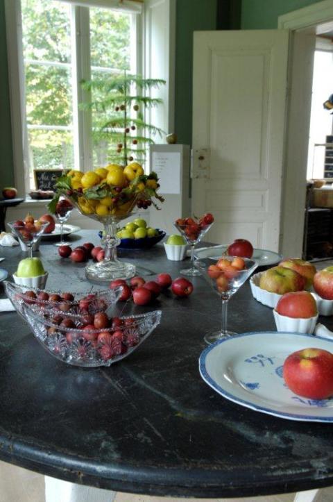 Fruktutställning på Fredriksdal 17-28 september 10.00–17.00