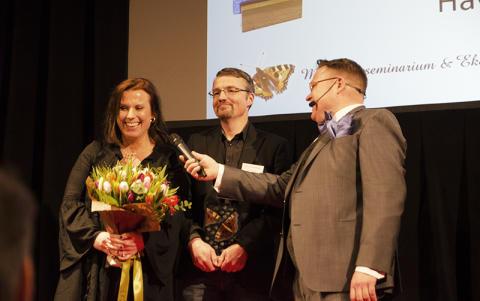 Årets Omläggare Havor Gård prisades på Ekogalan