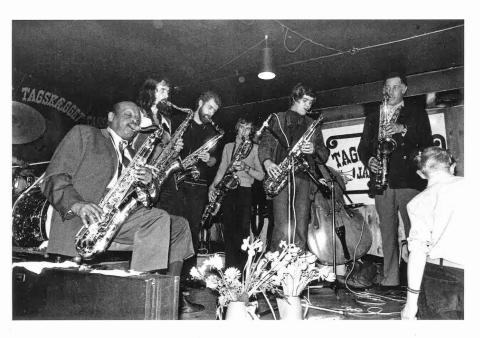 """""""Jazzhus Tagskægget"""" in Aarhus (1967-73)"""