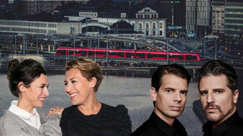MTR Express i spännande samarbete med Sveriges poddgiganter Fredagspodden och Alex & Sigges podcast