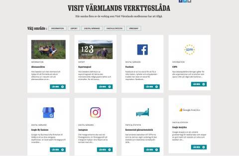 Visit Värmland lanserar ny verktygslåda för besöksnäringen på visitvarmland.org