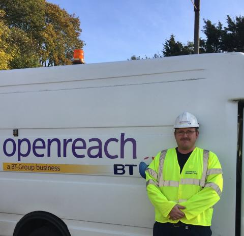Openreach engineer to the rescue