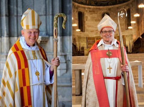Pressinformation inför ärkebiskopsskiftet