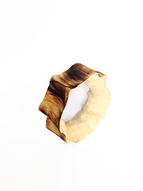 """Flaming waves"", bracelet by Flora Vagi"