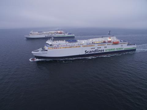 """Scandlines' neue Hybridfähren """"Copenhagen"""" und """"Berlin"""""""