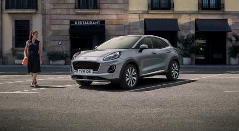Klassens innovative hybrid – ny Ford Puma klar med danske priser