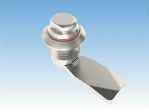 Hygienlås, 90° enligt ISO 14159 av syrafast stål