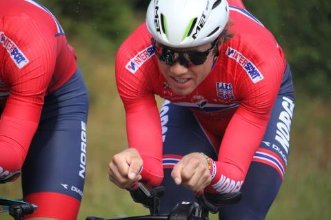 Edvlad Boasson Hagen under sykkel-EM 2017
