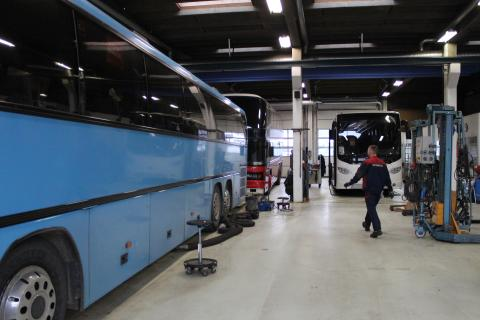 Scania styrker Aarhus-anlægget som knudepunkt i Østjylland