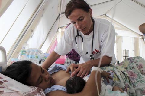 Filippinerna en månad efter