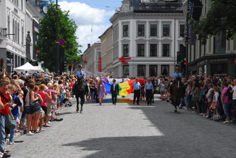 Fra Skeive dager til Oslo Pride.