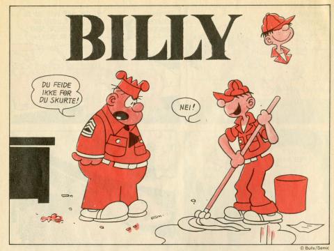Slik så Billy ut i 1973.