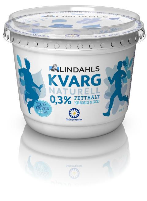 Kvarg – en ny proteinrik produkt i Lindahls sortiment